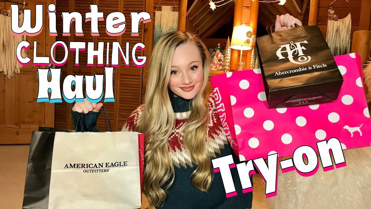 Christmas Haul 2019 Huge winter Try   on Clothing Haul 2019 | What I Got For Christmas