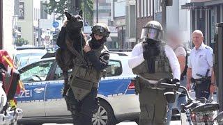 [SEK-EINSATZ IN KÖLN] - Randalierer leistete massiven Widerstand & verletzte Polizeibeamte -