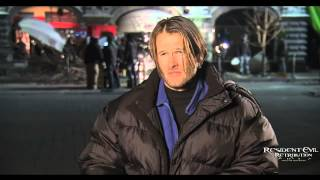 Resident Evil Retribution Interview with Johann Urb (Leon S. Kennedy)