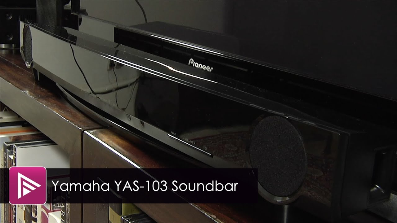 yamaha yas 103 soundbar review youtube. Black Bedroom Furniture Sets. Home Design Ideas