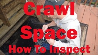 How to Inspect a Crawl Space