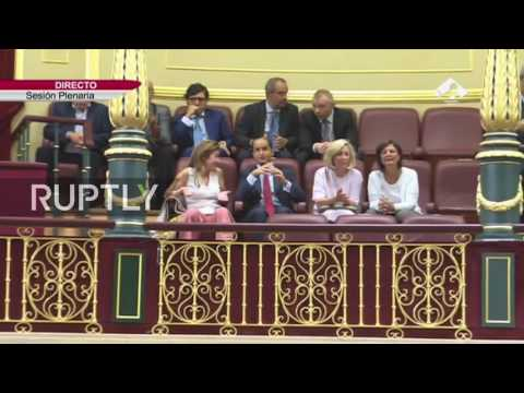 LIVE: Spain holds confidence vote on forming government (Part I)