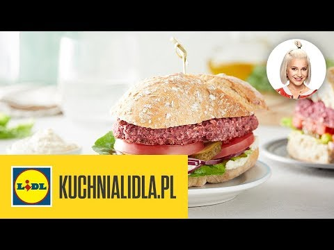 Wegański Burger Z Buraka Daria ładocha Kuchnia Lidla