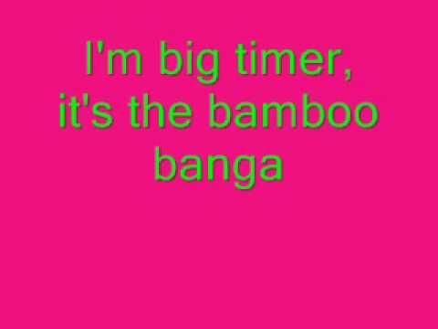 M.I.A Bamboo Banga Lyrics