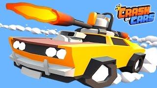 Crash of Cars ОПАСНЫЕ ТАЧКИ Игровой мультфильм для детей про гонки на БОЕВЫХ МАШИНКАХ от Cool GAMES