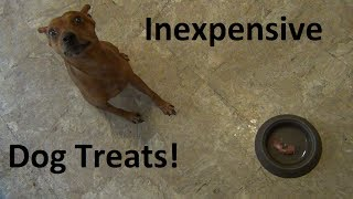 LOW cost & HEALTHY dog treats!