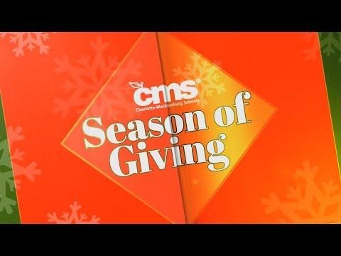 #CMSeason of Giving: Huntersville Elementary School
