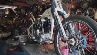 Kick Start - 4 Cam Knucklehead Modified Harley-Davidson
