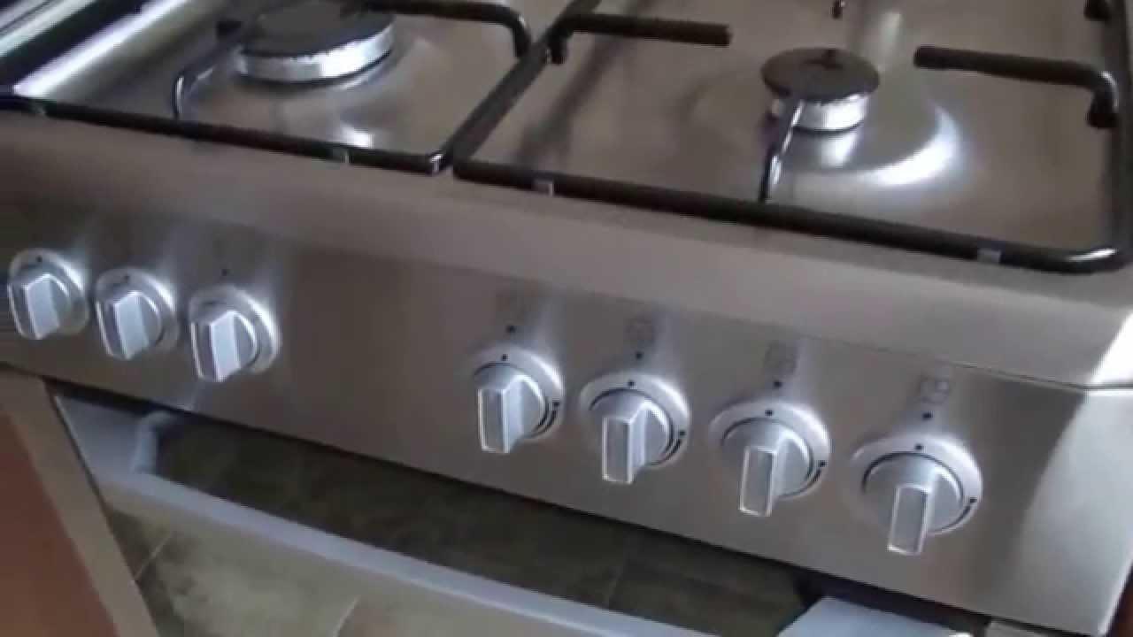 1 часть подробного обзора плиты Beko Cse 62120 Dx