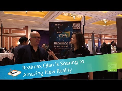 Realmax Qian is Soaring to Amazing New Reality @ CES 2018