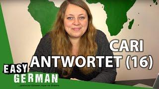 Cari Antwortet (16) - Politische Parteien | Nationalstolz | Deutsche können kein Englisch??