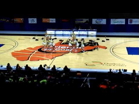 Tucker County High School A WVSSAC Cheer States 2015