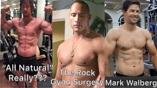 "COACH GREG Mark Wahlberg ""All Natural"" THE ROCK ""Gyno Surgery"" Hollywood and Steroids!"