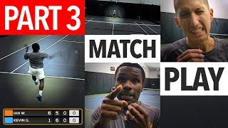 NTRP 5.0 vs 5.5 Tennis Match Play - PART 3 (Ian vs. Kevin)