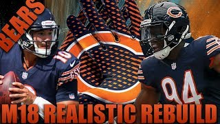 Realistic Rebuilding of The Chicago Bears  | Madden 18 Franchise! Most Surprising Season Yet! 2017 Video