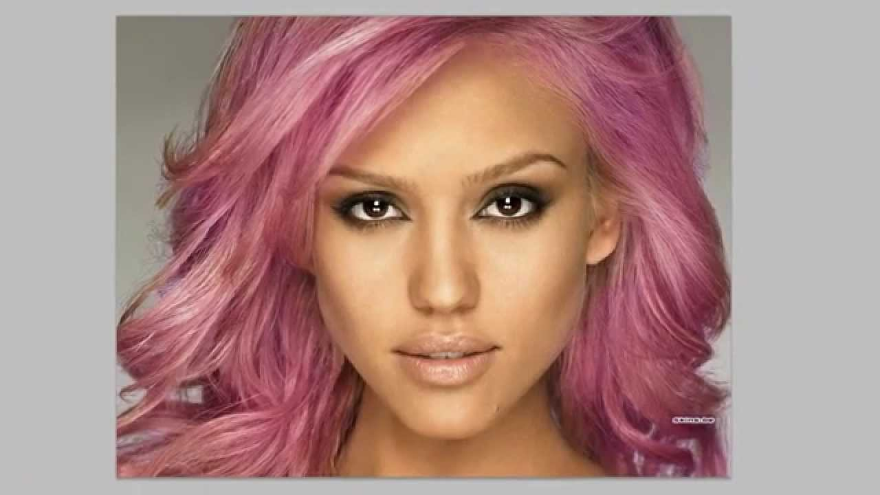 Photoshop CS6 & CC - Changing Hair Colour - Tutorial - YouTube