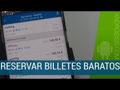 GoEuro, la app para buscar y reservar billetes baratos