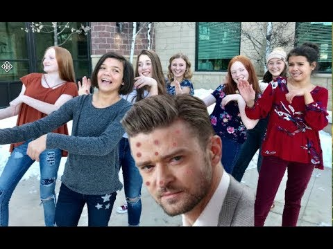 JUSTIN TIMBERLAKE  Cant Stop The Feeling! PARODY CANT STOP THIS ACNE!