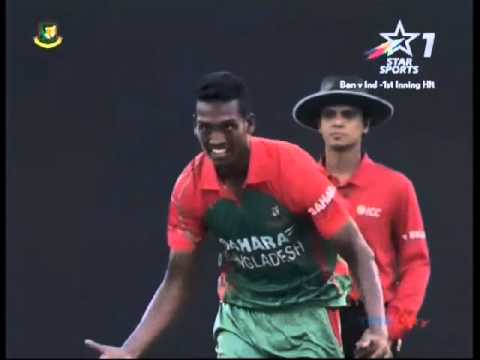 Alamin hossain against Akshar Patel