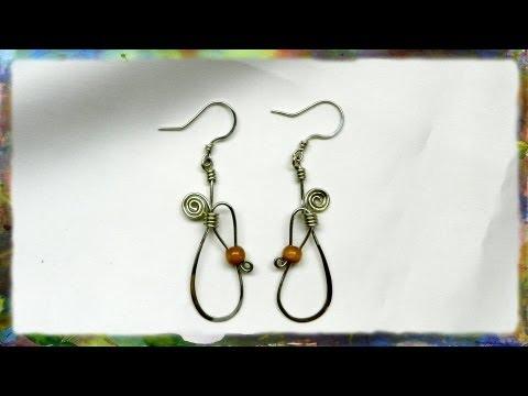Beautiful Bead Locked Earrings by Ross Barbera