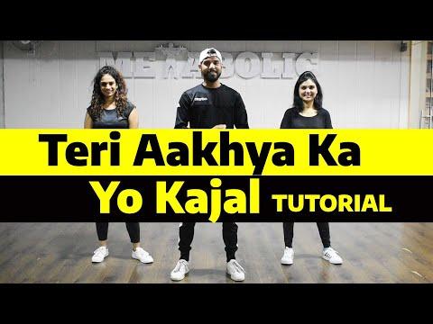 Teri Aakhya Ka Yo Kajal Sapna Chaudhary Dance Tutorial | Dance Choreography | Fitness Fusion