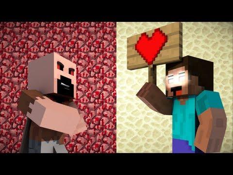 If Notch Was Evil And Herobrine Was Good - Minecraft