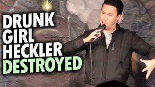 Comedian Destroys Drunk Girl Heckler (Seattle)