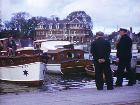 1950's Norfolk Broads Holiday