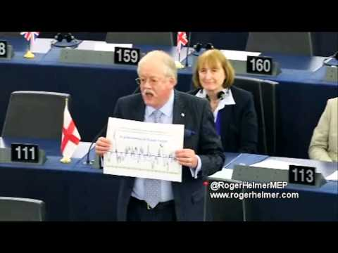Bankrupting Europe for a speculative, implausible theory - UKIP MEP Roger Helmer
