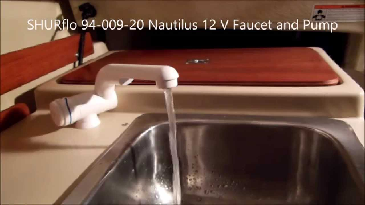Upgrade your galley with an electric water pump - YouTube