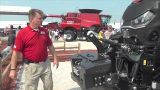 300hp and 85 cubic feet of cab case ih introduces optum series tractors
