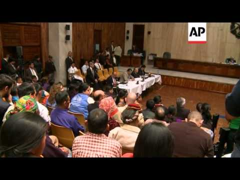 Trial opens of former dictator Rios Montt accused of genocide