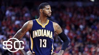 Was paul george traded too early? | sportscenter | espn