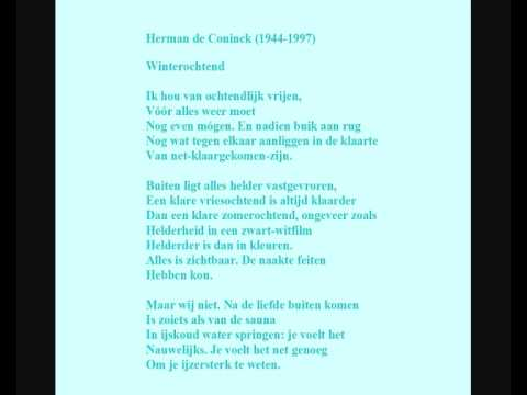 Herman De Coninck Gedicht Winterochtend