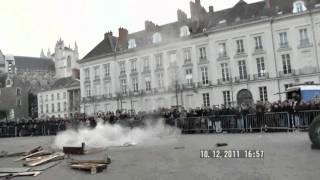 lancer de piano - Royal de Luxe - Nantes