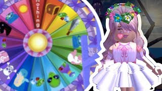 Spinning The New Town Wheel!! | Royalloween Update | ROBLOX