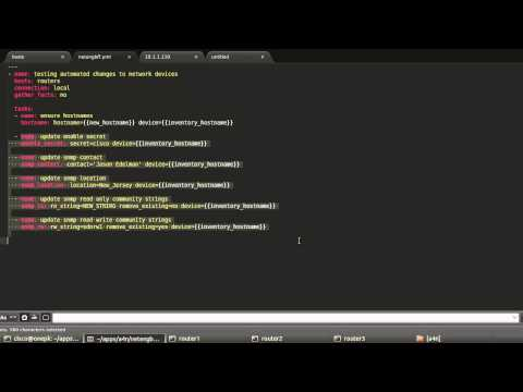 Using Ansible for Network Automation - YouTube