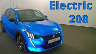 Peugeot e-208, first presentation