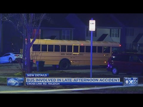 Police investigate bus crash in south Raleigh