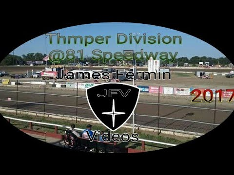 Thumpers #43, Feature, 81 Speedway, 2017