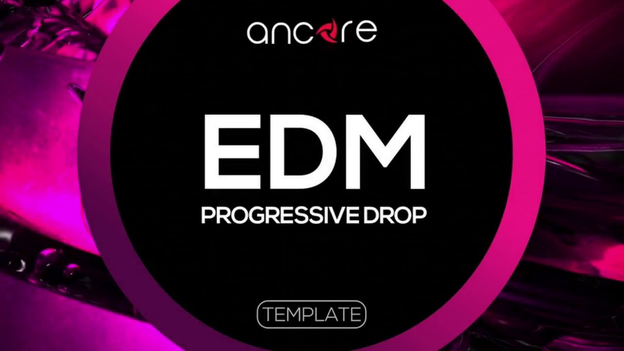 """FREE EDM PROGRESSIVE DROP"" Logic Pro Template 