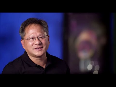 Jen-Hsun Huang speaks about GPUs for Microsoft Azure Cloud