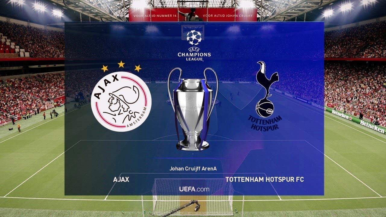 ajax vs tottenham  2nd leg  champions league ucl 8 may