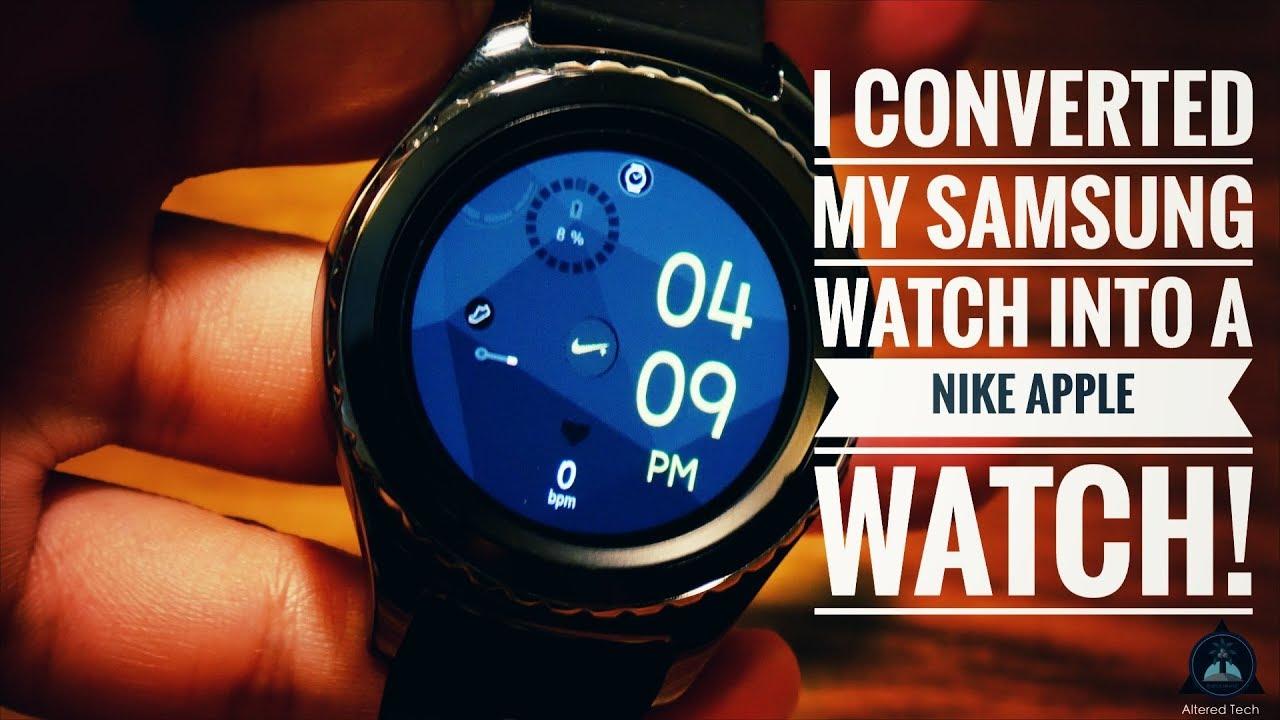 Samsung Gear Custom Nike Edition