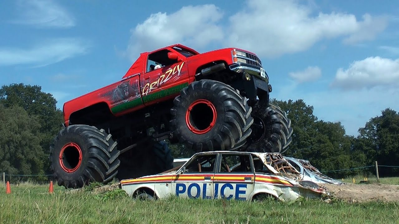 Monster Truck Self Drive Car Crush Youtube