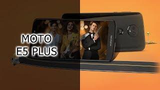 Обзор смартфона Moto E5 Plus