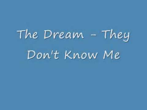 The Dream They Don't Know Me + Lyrics