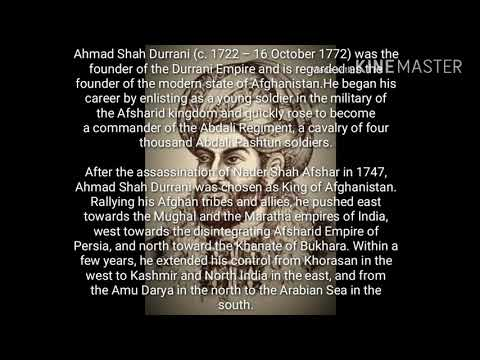 Ahmed Shah Abdali : The founder of Durrani Empire