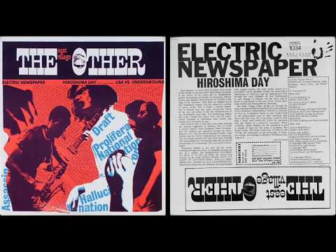 The East Village Other - Electric Newspaper from Hiroshima Day (EVO)