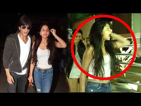 Shahrukh Khan's Daughter Suhana Khan Gets Harassed By Media BADLY In Public